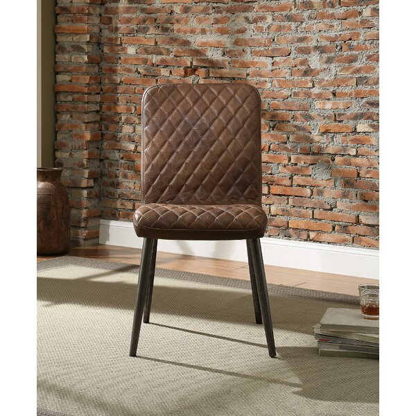 Mandil Pack Upholstered Dining Chair (Set of 2) by 17 Stories