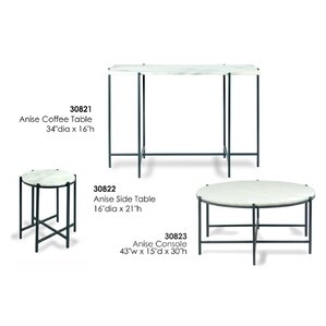 Anise Console Table by Sarreid Ltd