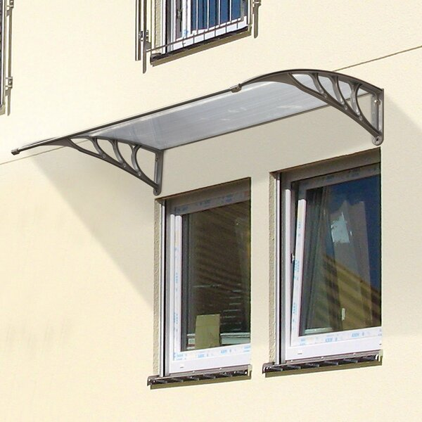Patio 3 ft. W x 3 ft. D Window and Door Awning by HomCom