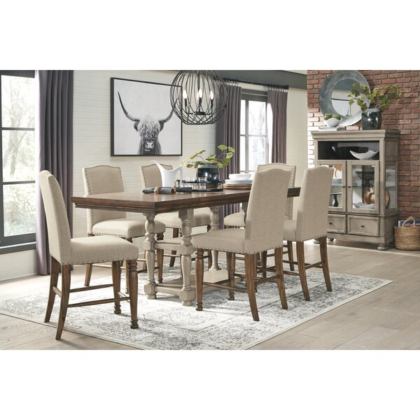 Javier 7 Piece Counter Height Drop Leaf Dining Set by Gracie Oaks Gracie Oaks