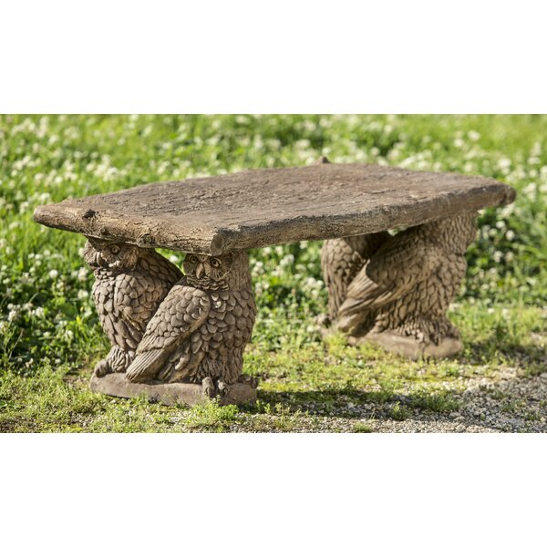 Pitchel Owl Bench by August Grove