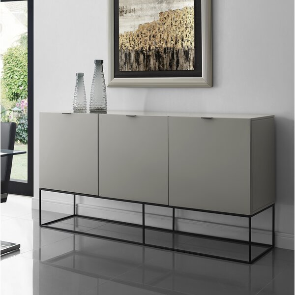 Vizzione Buffet Table by Casabianca Furniture