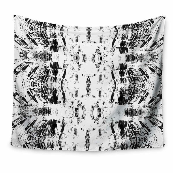 Danii Pollehn Monochrom Pattern Tapestry and Wall Hanging by East Urban Home