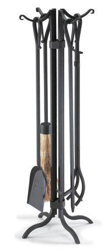 Metro Bridge 5 Piece Fireplace Tool Set by Pilgrim Hearth