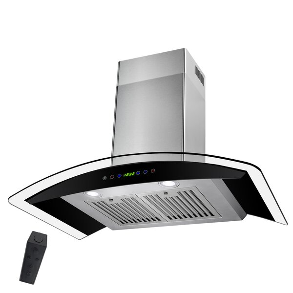 30 343 CFM Convertible Wall Mount Range Hood by AKDY