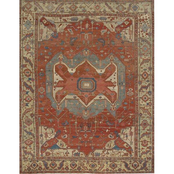 Antique Heriz Serapi Rug, circa 1890 11'5 x 14'4