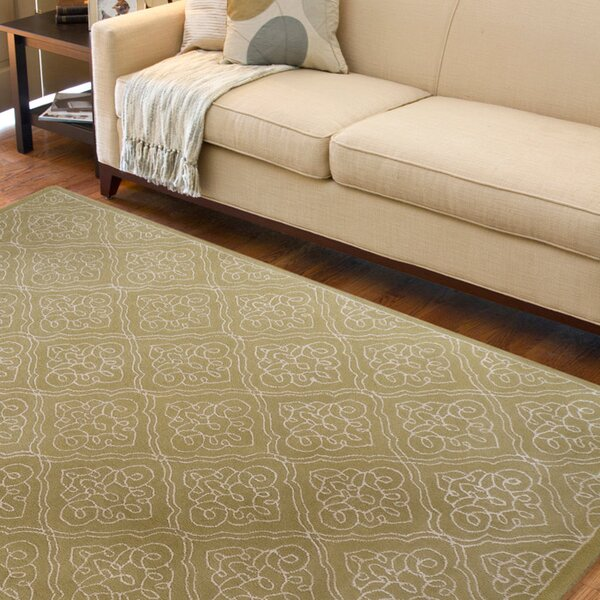 Modern Classics Pale Green Rug by Candice Olson Rugs