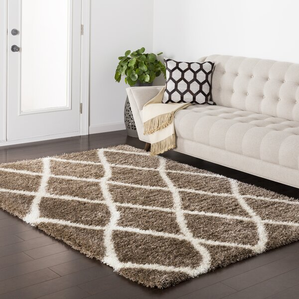 Kolton Brown Area Rug by Williston Forge