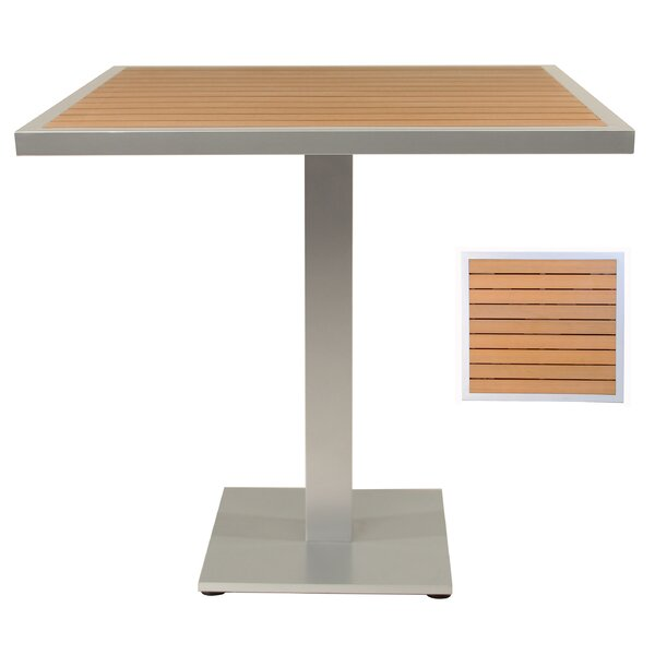 Teak Bar Table by Adriano