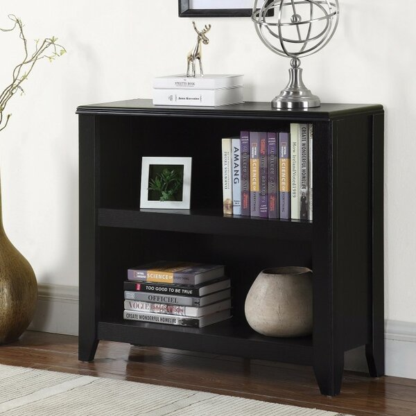 Watanabe Wooden Standard Bookcase by Charlton Home