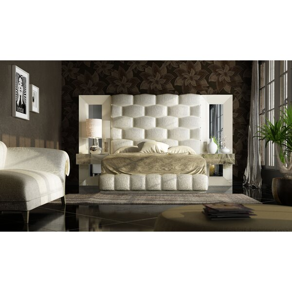 Helotes Platform 5 Piece Bedroom Set By Orren Ellis by Orren Ellis Sale