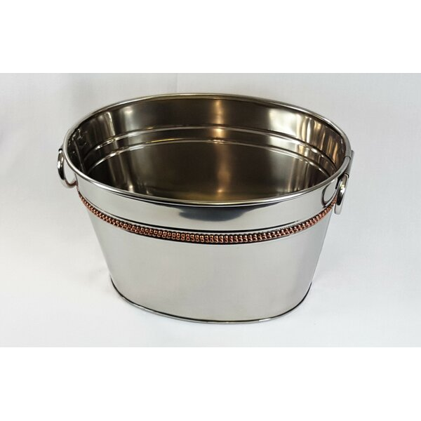 Aiken Oval Party Beverage Tub by Latitude Run