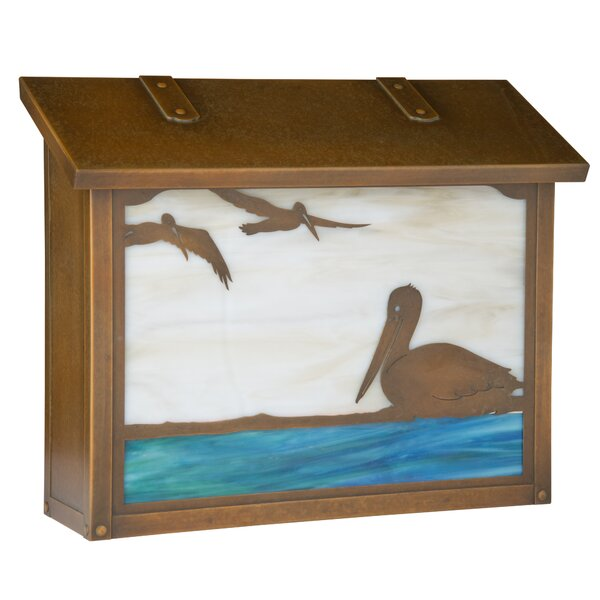 Pelican Wall Mounted Mailbox by America's Finest Lighting Company
