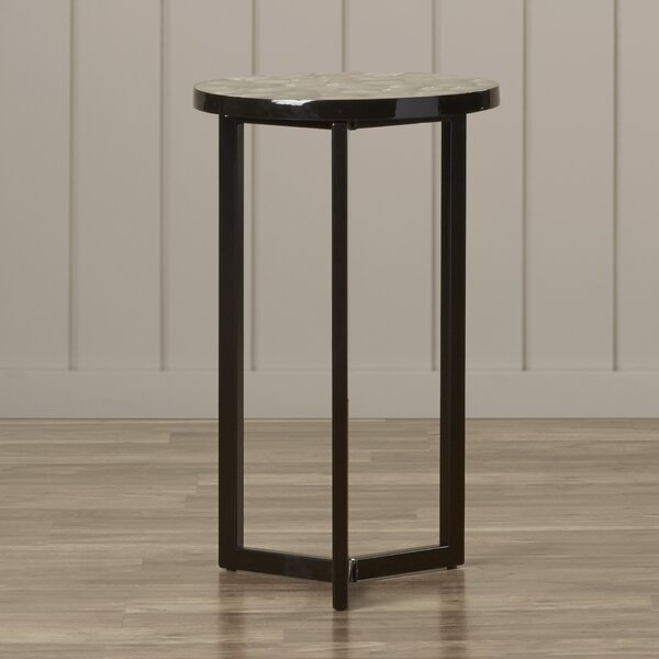 Meleri End Table by Highland Dunes