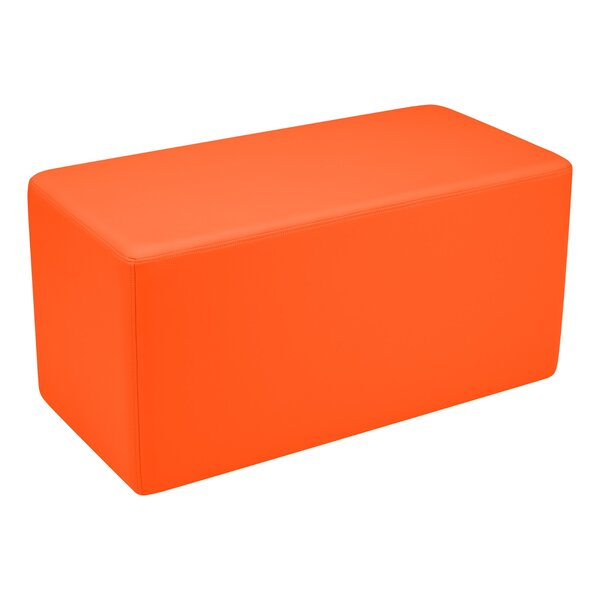 Kids Vinyl Rectangle Stool Soft Seating by Learniture