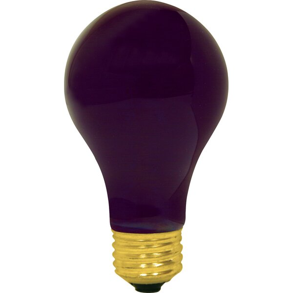 60W Purple 120-Volt Light Bulb by GE