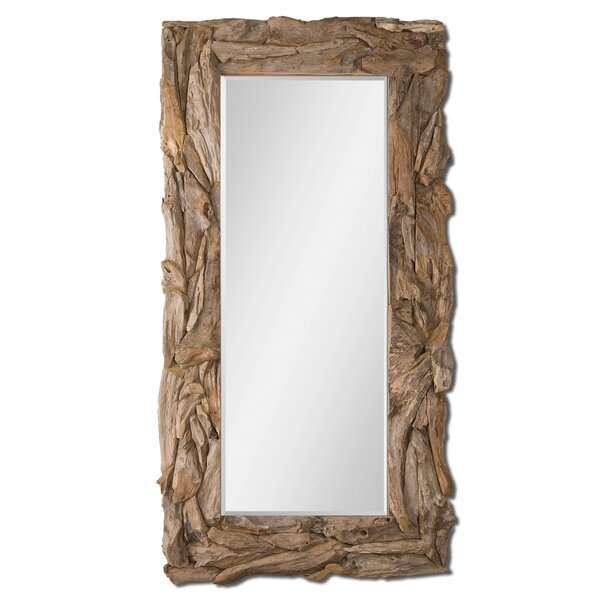 Ivey Teak Root Wall Mirror by Bayou Breeze