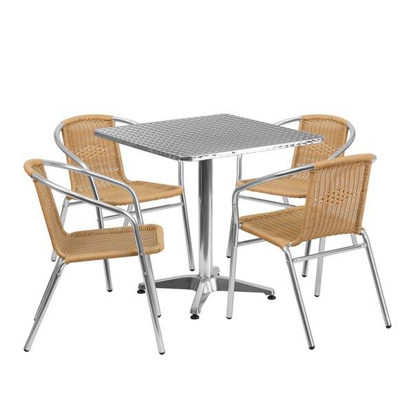 Monatuk 5 Piece Dining Set by Ebern Designs