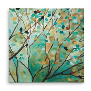 'Tree of Life I' Oil Painting Print on Wrapped Canvas by Andover Mills
