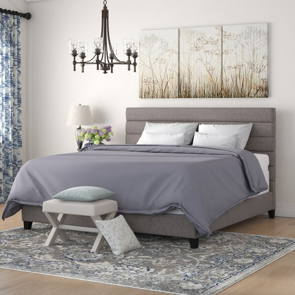 Barkbridge King Upholstered Platform Bed by Brayden Studio