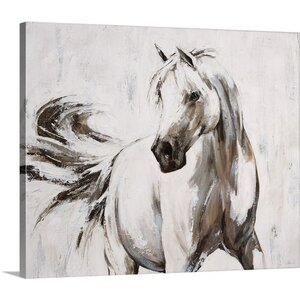 'Every Move' by Sydney Edmunds Painting Print on Canvas by Great Big Canvas