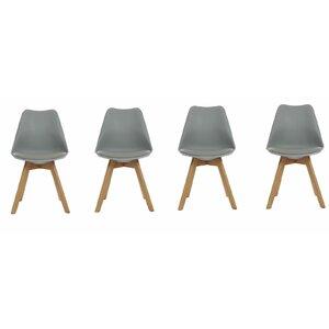 wodan upholstered dining chair set of 4