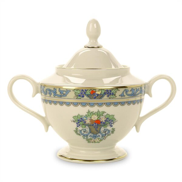 Autumn Sugar Bowl with Lid by Lenox