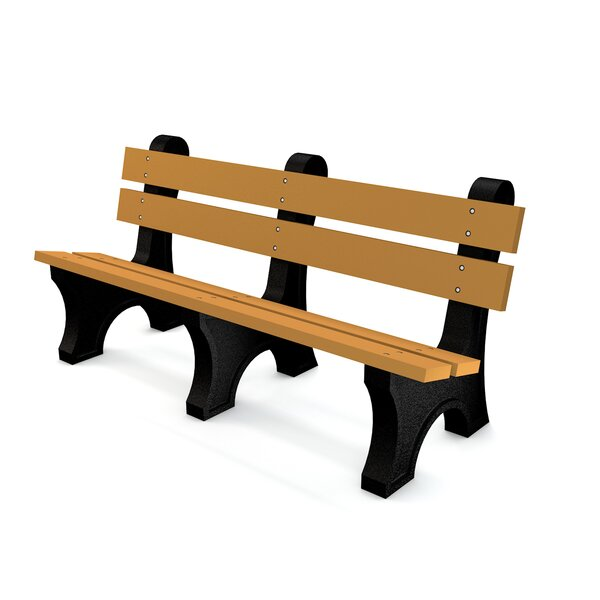 Colonial Recycled Plastic Park Bench by Frog Furnishings