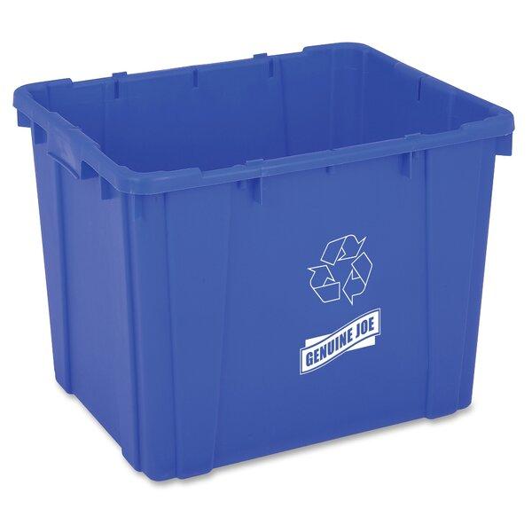 14 Gallon Recycling Bin by Genuine Joe