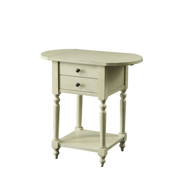 Kelton End Table With Storage By August Grove