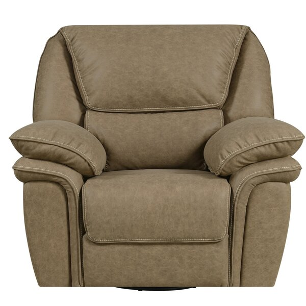 Ellinger Manual Swivel Glider Recliner by Red Barr