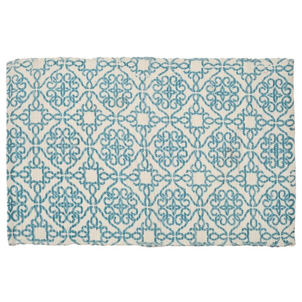 Mullaney Hand-Woven Blue Area Rug by Bloomsbury Market