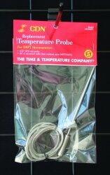Replacement Temperature Probe for DSP1 Thermometers by CDN