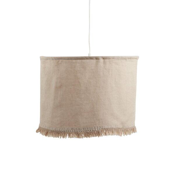 18 H Linen Drum Lamp Shade ( Uno )