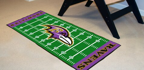 NFL - Baltimore Ravens Football Field Runner by FANMATS