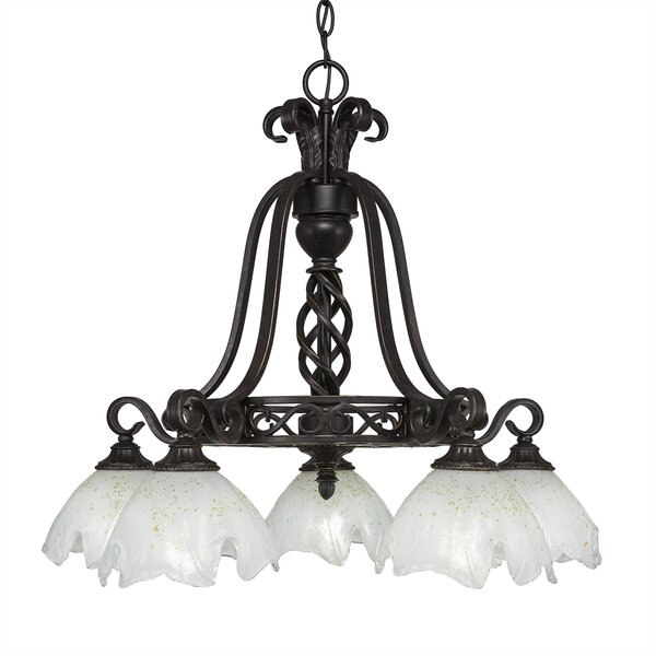 Pierro 5-Light Shaded Chandelier by Astoria Grand