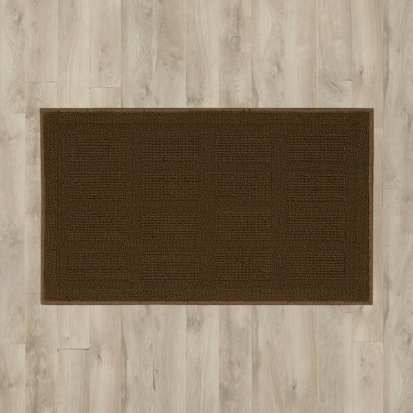 Seema Geometric Brown Area Rug by Winston Porter