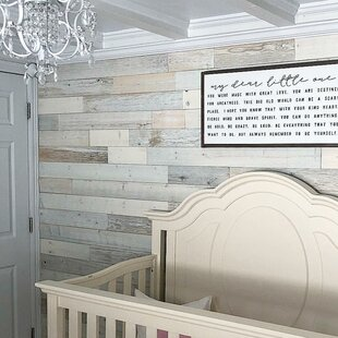 4 Solid Wood Wall Paneling In White