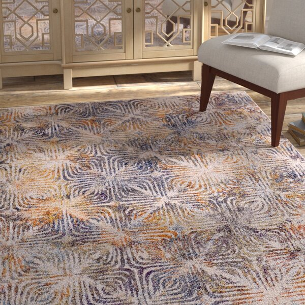 Greenwich Village Cream Area Rug by Bungalow Rose