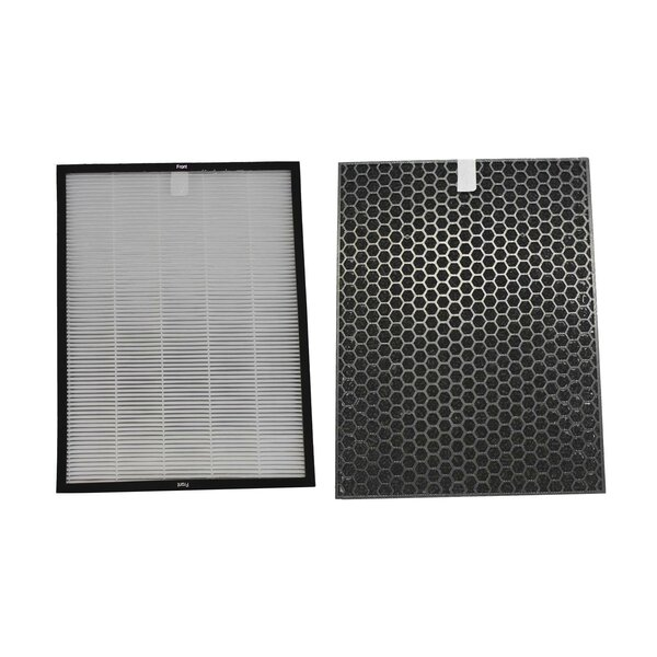 2 Piece Air Filter and Carbon Filter Set by Crucial