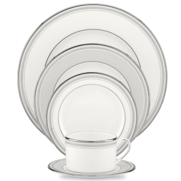 Palmetto Bay Bone China 5 Piece Place Setting Service For 1 By Kate Spade New York.