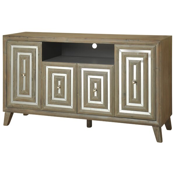 Dartington Solid Wood TV Stand For TVs Up To 78
