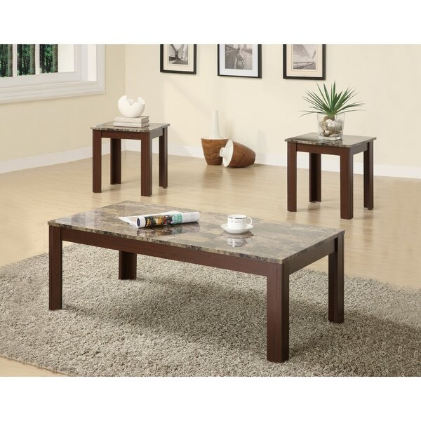 Colena Impressive 3 Piece Coffee Table Set by Fleur De Lis Living Fleur De Lis Living