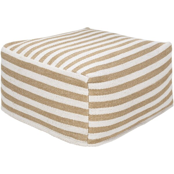 Lueras Transitional Pouf By Highland Dunes