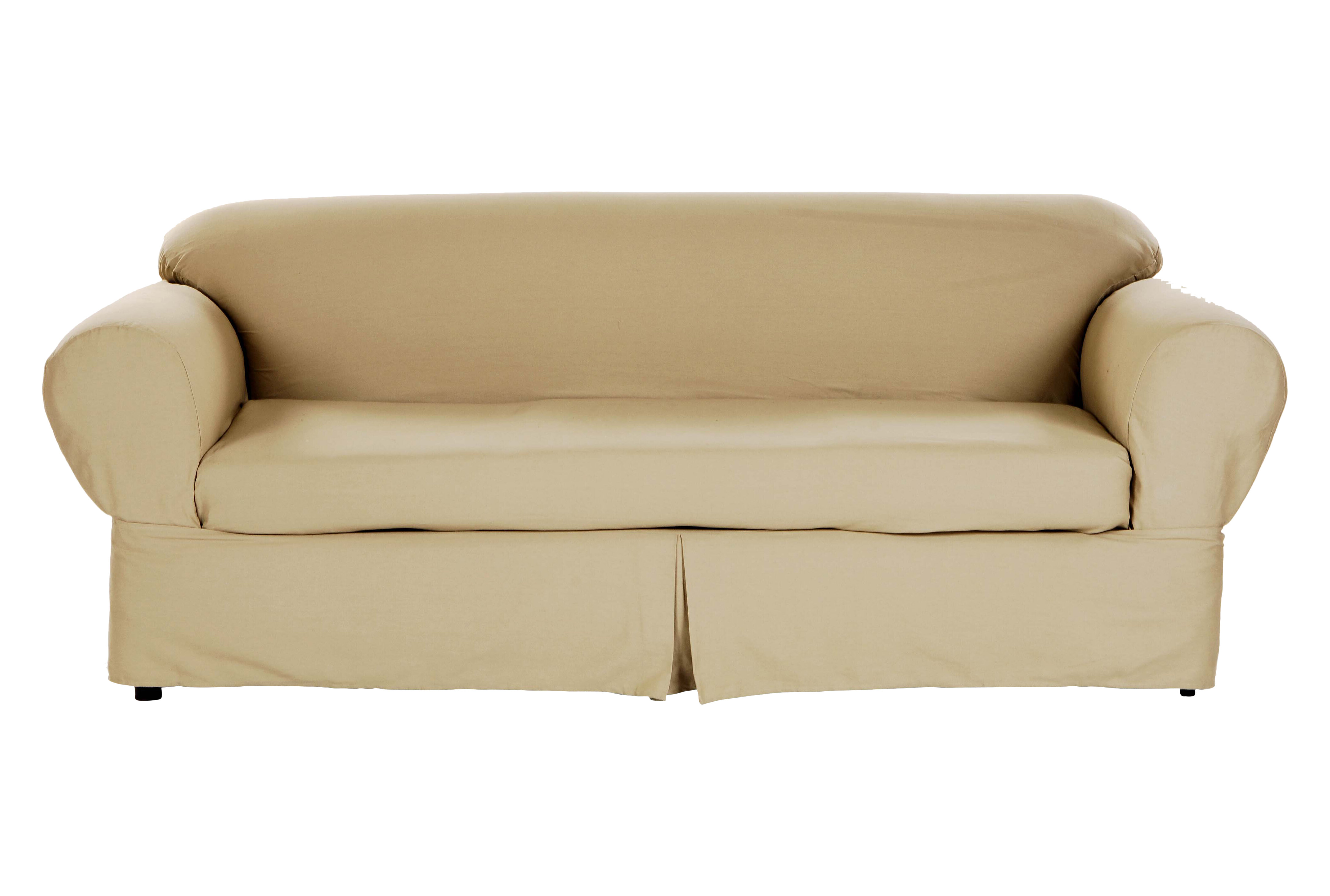 Darby Home Co Box Cushion Loveseat Slipcover Reviews Wayfair