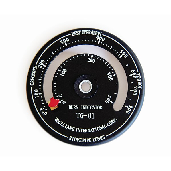 Temperature Gauge with Magnet by Vogelzang