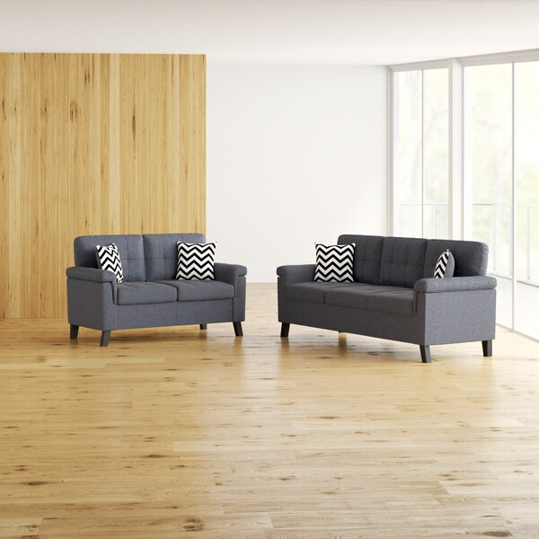 Inexpensive Whitmore 2 Piece Living Room Set by Ebern Designs