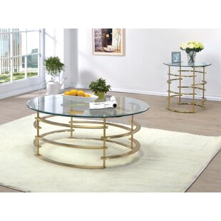 Scylla 2 Piece Coffee Table Set Orren Ellis