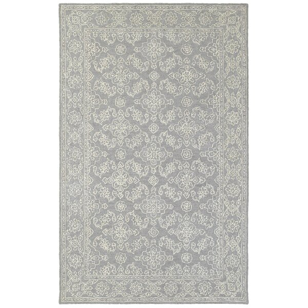 Toussaint Hand-Tufted Gray Area Rug by One Allium Way
