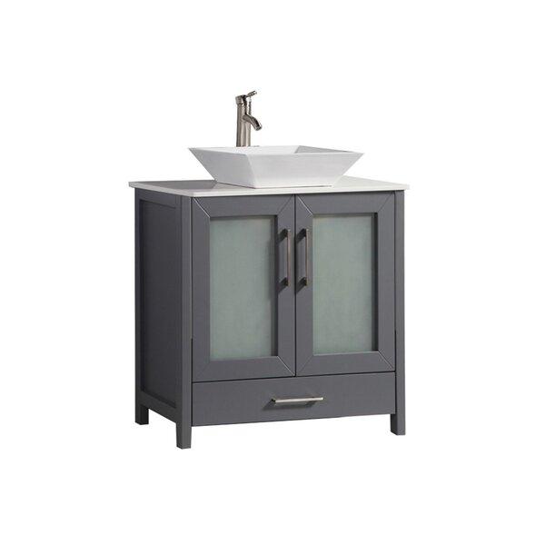 Preciado Modern 30 Single Bathroom Vanity Set by Orren Ellis